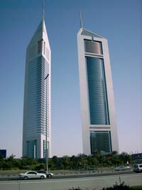 Emirates Towers  Dubai Landmarks
